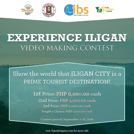 EXPERIENCE ILIGAN VIDEO MAKING CONTEST