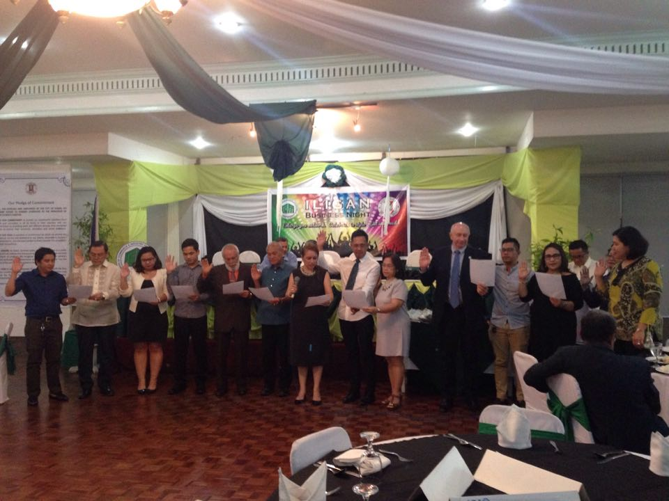pledge of commitment - business communities of iligan city