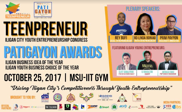 Press Release | CBAA, MSU-IIT Holds TEENPRENEUR: Iligan City Youth Entrepreneurship Congress